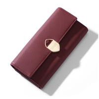JUNYUAN 2019 Leather Lady Wallet Leather Women, Colorful Woman Wallet