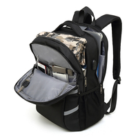 Anti-theft Backpack Smart Usb Charging Backpack Oxford Computer Bag