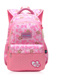 Bright Patterns Cheap Double Shoulder Comfortable Durable Girls New Models School Bag