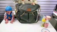 JUNYUAN Newest Tote Shoulder Baby Mummy Diaper Bag Backpack With Stroller Strap