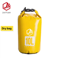 Roll Top Dry Bags Waterproof Backpack Cleaning Plastic Bags With 5L/10L/15L/20L