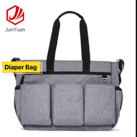 Diaper Bag Baby Backpack with Portable Changing Pad Clutch, Durable Baby Organizer with Insulated Pockets