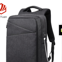 JUNYUAN Leisure College Shoulder Backpack Smart Student Backpack With USB Port