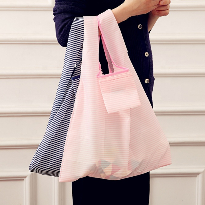 JUNYUAN Large Capacity Waterproof Shopping Bag Square Vest Bag