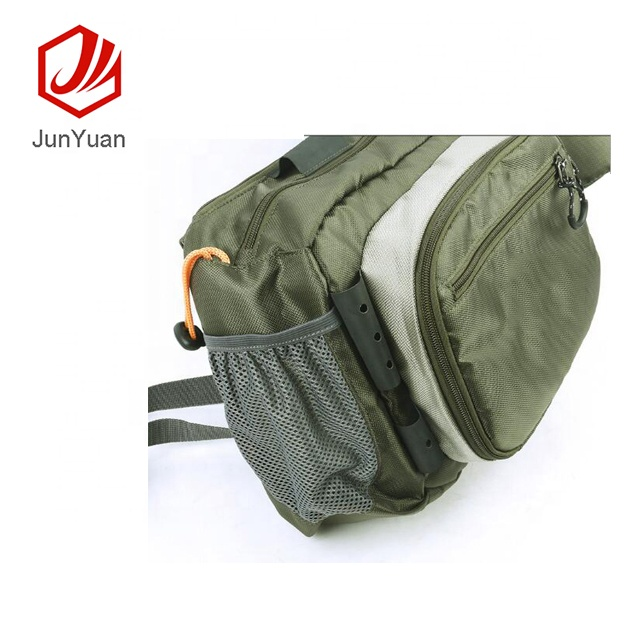 JUNYUAN Multi-functional Outdoor Fishing Tackle Bag Fly Fishing Bag