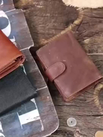 JUNYUAN Waterproof RFID Men Purse Genuine Leather Men Wallet For Business
