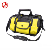 Professional electrician tool bag with 9 pockets