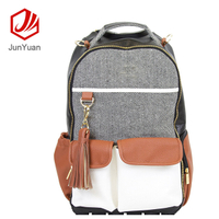 High Quality Baby Diaper Backpack Leather Travel Backpack Hiking Bags