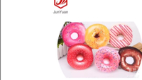 JUNYUAN Lovely Creative Cake Donut Key Coin Bag Small bag Student Wallet