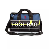 Soft Sided Tool Bag With Wide-Mouth Storage, Storage Pockets And Carrying 11 By