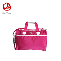 Manufacturer Pink Travel Duffel bag Portable Gym Sports Bag with Large Capacity