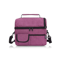 JUNYUAN Insulated Lunch Bag Lunch Box for Women Lunch Bag for Men Cooler Bag