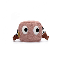 JUNYUAN 2019 Fashion Plush shoulder Hand Bag For Woman