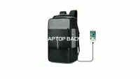 New USB Recharge High Capacity Backpack Travel Bag Fits 15.6 Inches Laptop New Design Bag