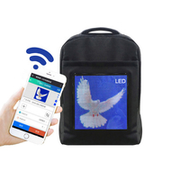 WIFI Version Portable LED Backpack For Mobile Billboards Light Walking Advertising Screen