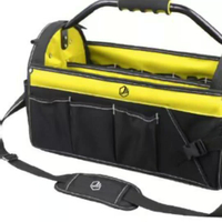Strong 1680D Polyester High Quality Open Tote Tool Bag Large