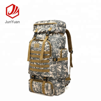 Camo large military hiking outdoor hunting backpack