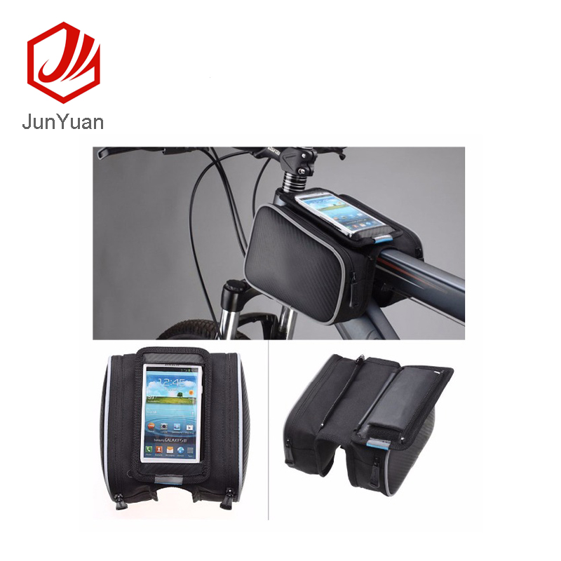 Waterproof PVC Touch Screen Bike bag Bicycle Frame Front Bag
