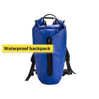 Super Dry backpack 500D Tarpaulin PVC Waterproof Backpack For Outdoor Sports