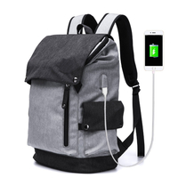 Business Laptop Backpacks water Resistant Travel Bag Computer USB Charging Backpack