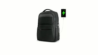 Slim Business Laptop Backpack for Men Women 15.6inch Waterproof & Anti-Theft College Backpack with USB Charging