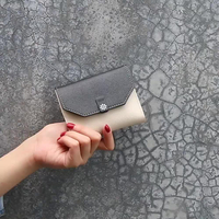 JUNYUAN 2019 New Women's Short Folding Simple Fashion Ladies Wallet