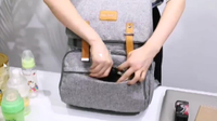JUNYUAN Outdoor Travel Multifunctional Baby Mummy Diaper Bag Backpack For Dad