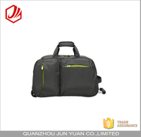Outdoor travel portable large capacity trolley duffel bag with wheels