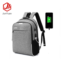 Best sell fashion style USB interface pc pocket business laptop backpack