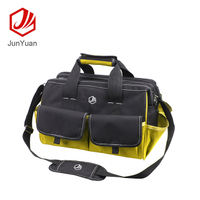 600D Polyester Fabric Electrician Large Capacity Shoulder Tool Bag
