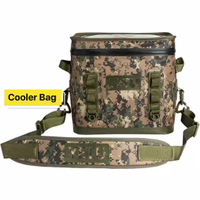 Dual Camouflage Compartment Waterproof Insulated Lunch Cooler Bag