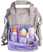 JUNYUAN Fashion Mummy Nappy Baby Diaper Bag Backpack With Changing Pad
