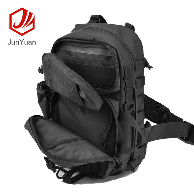 JUNYUAN Tactical Assault Sling Pack Military Hunting Range Shoulder Sling Bag
