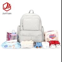 JUNYUAN 5pcs/set Large Capacity Multi-function Diaper Bag For Mom